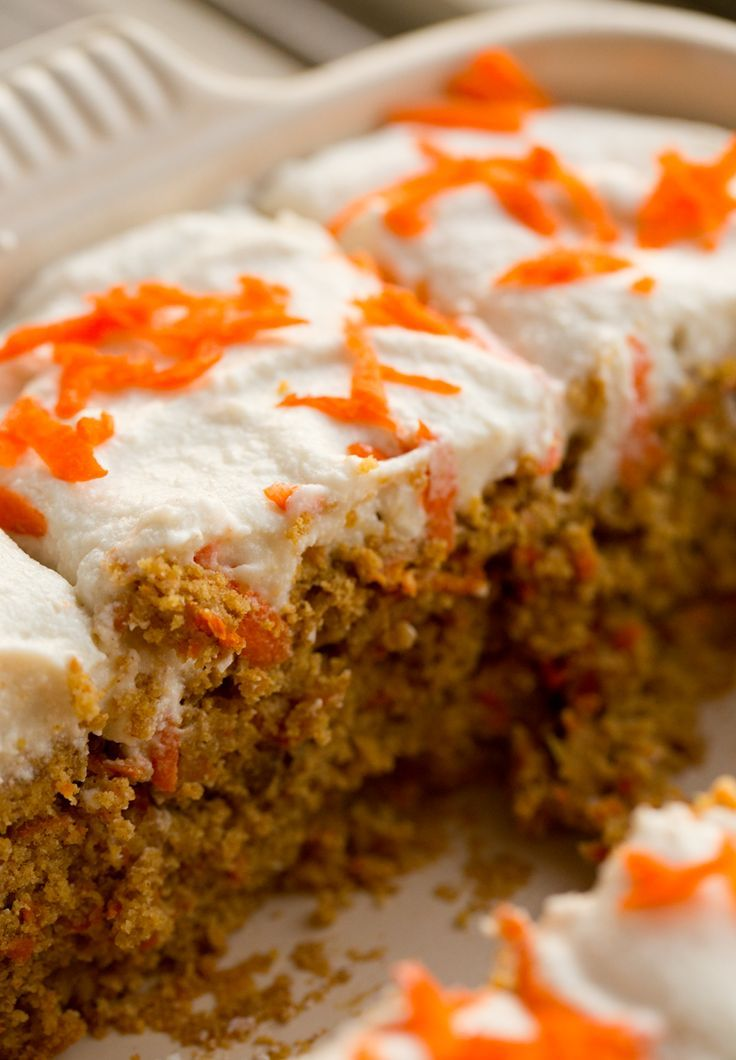 Carrot cake coconut cream cheese frosting vegan carrot