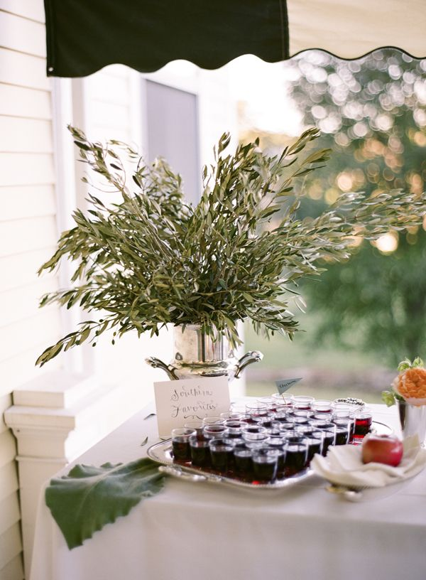 Olive branch centerpiece wedding blooms pinterest