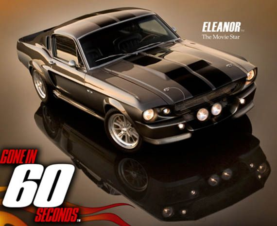 10 movie cars that outperformed the lead actor ford mustang shelby - Shelby Mustang Gone In 60 Seconds