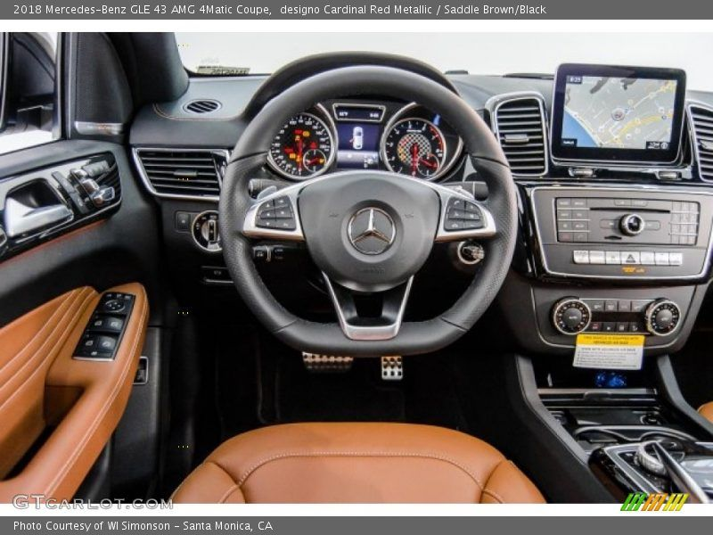 Dashboard Of 2018 Gle 43 Amg 4matic Coupe Mercedes Benz Gle