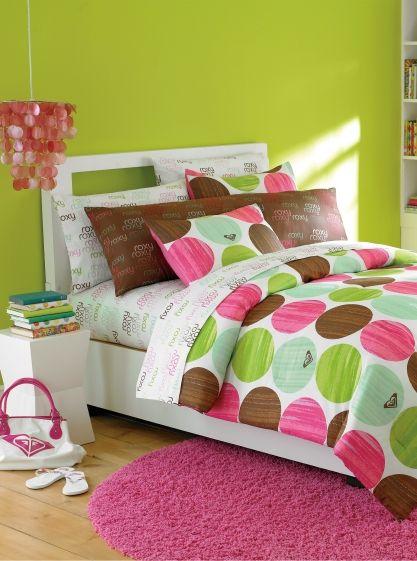Edredones roxy juveniles para jovenes ropa cama chicos y - Camas para chicas ...