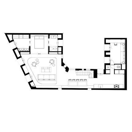 plan appartement mansarde