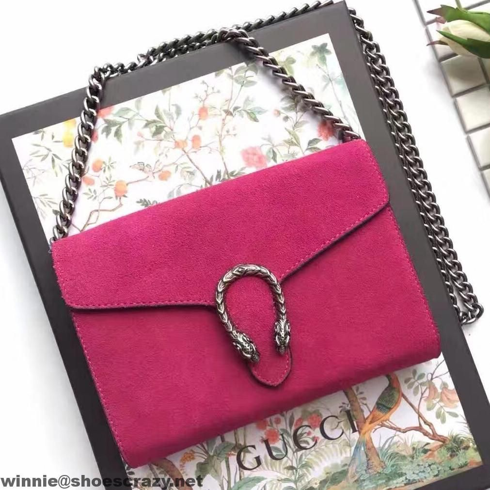 9249c223187 Gucci Dionysus Suede Mini Chain Bag 401231 2016  Guccihandbags ...