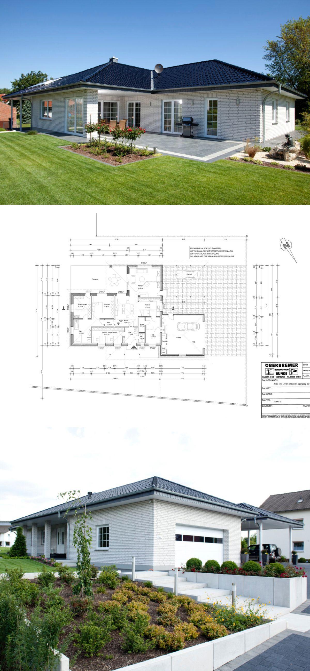 Bungalow Haus Mit Garage Und Walmdach Architektur Grundriss Barrierefrei Winkelbungalow Haus Dittmer Von Baumeister Haus A Haus Bungalow Baumeister Haus Haus