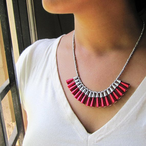 Dazzling Love Necklace Christmas necklace by PaperMelon on Etsy
