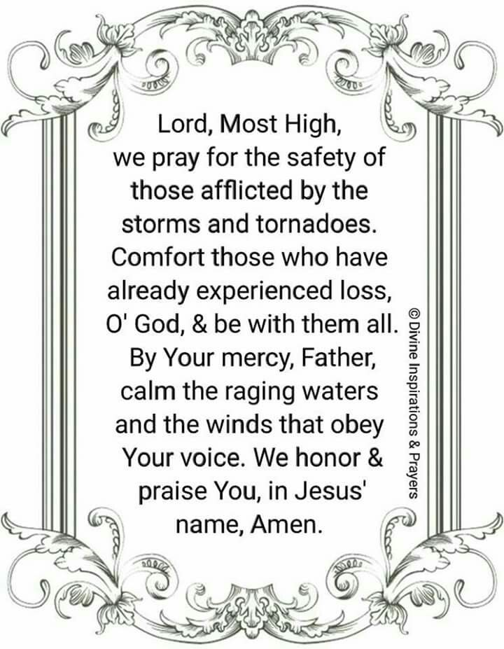 Prayer For Bad Weather Protection Bad Weather Quotes Weather