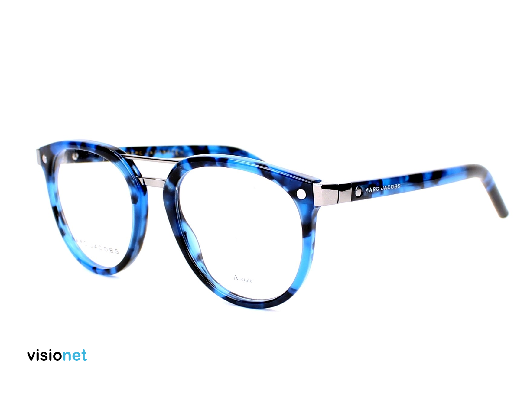 28f9dabb0fb826 Lunettes de vue Marc Jacobs MARC 19 Acétate Bleu havane - 137 EUR ...