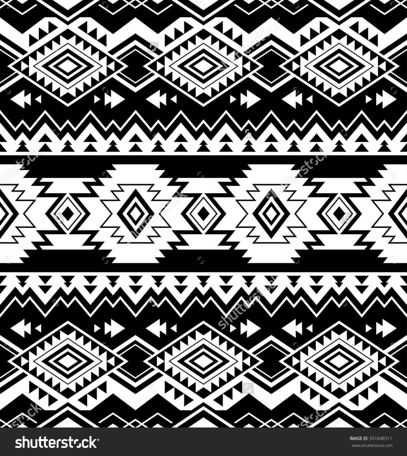 navajo designs patterns. Black And White Color Tribal Navajo Seamless Pattern Aztec Fancy Save To A Lightbox. Design Designs Patterns