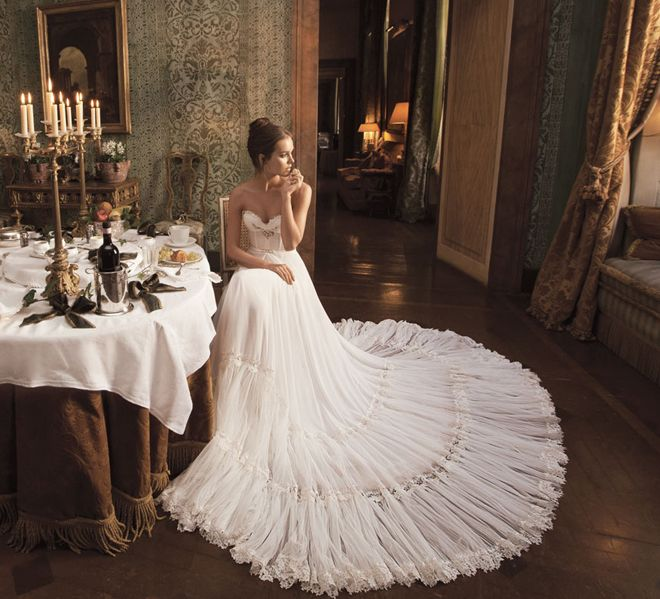 Couture Wedding Gowns from Inbal Dror | Inbal dror, Elegant gown and ...