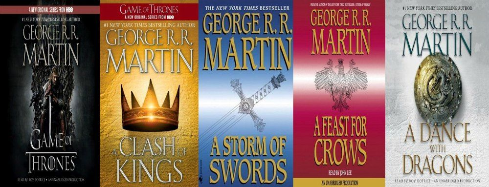 The 5 Best Fantasy Fiction Series Of All Time By Someone Who