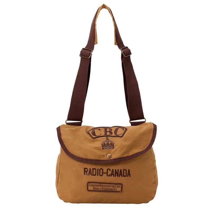 CBC Radio Canada Mobile Recording Shoulder Bag | Radios, Canada ...