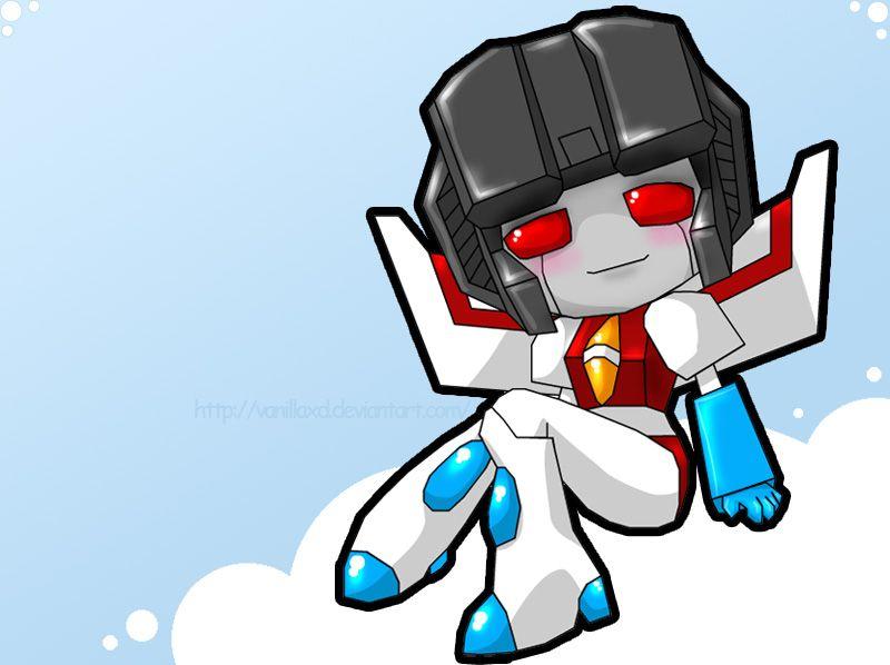 TF G1 - Starscream Chibi by Vani-Fox on DeviantArt