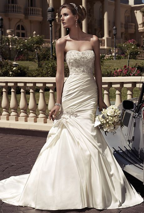 Casablanca Wedding gown available from Bridal Boutique of Baton ...