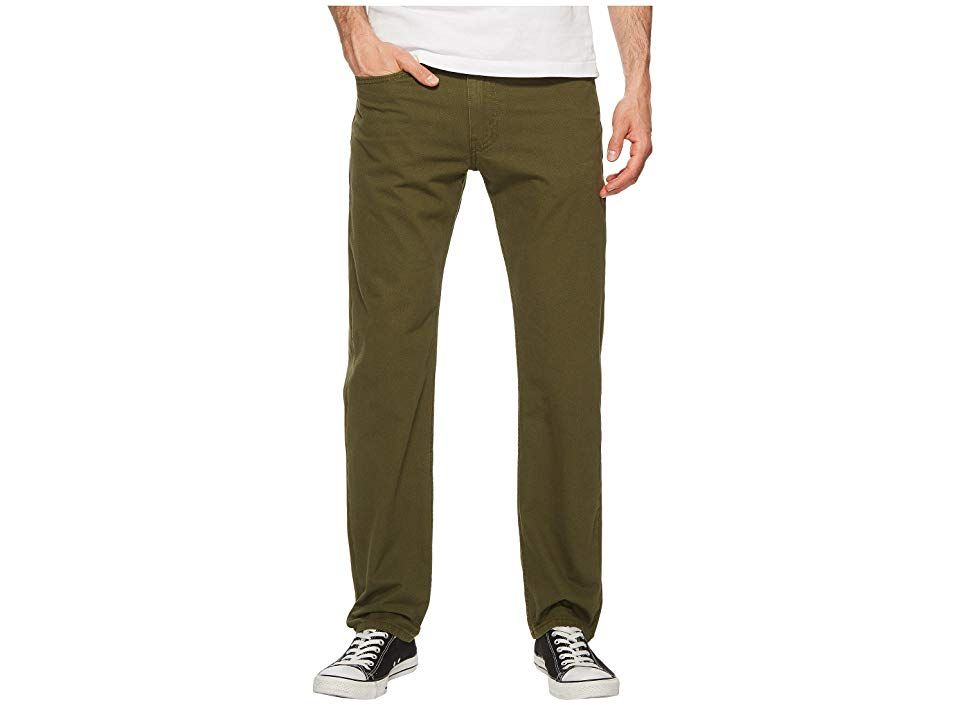5b688c038cd Levi's(r) Mens 502 Regular Taper Fit (Rainforest Green - Warp Stretch)