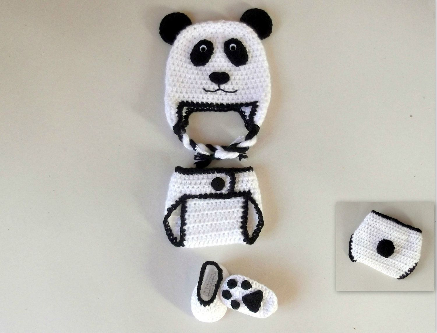 Panda Bear Set | Baby | Pinterest