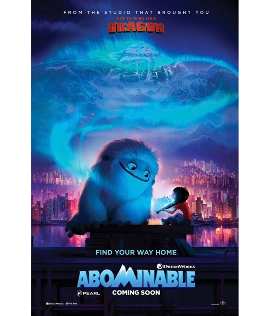 Abominable poster Full movies, Free movies online