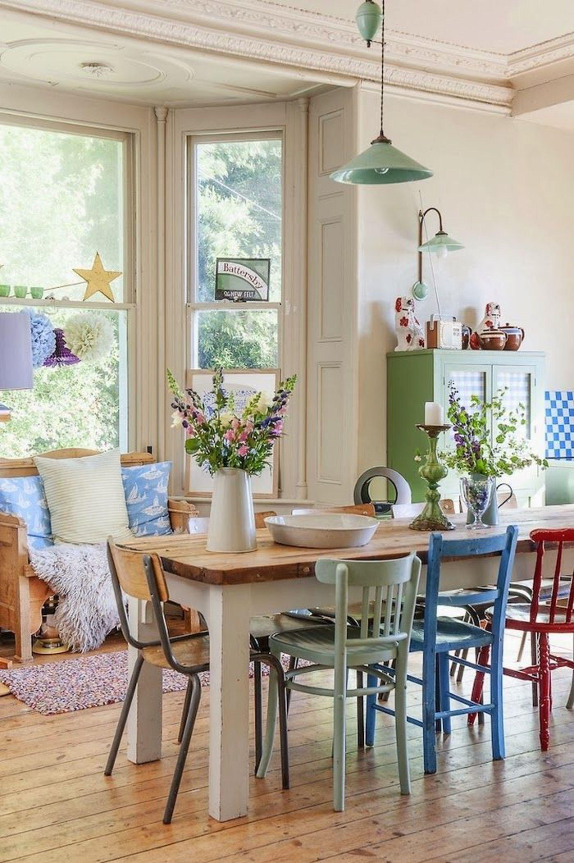 Pinterest Idées Déco Pour Maison De Campagne Stylée Maisons - Decoration cuisine campagne pour idees de deco de cuisine