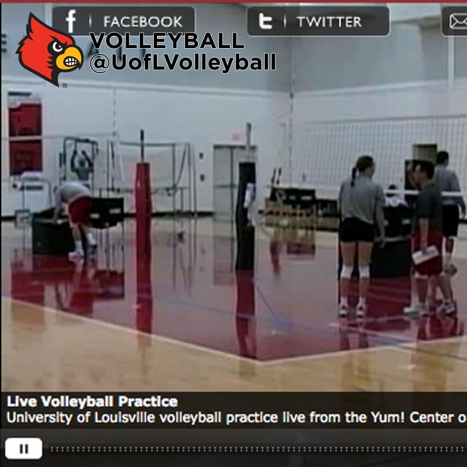 Pin By The Flying Cardinal On Uofl Volleyball Volleyball Practice University Of Louisville Volleyball