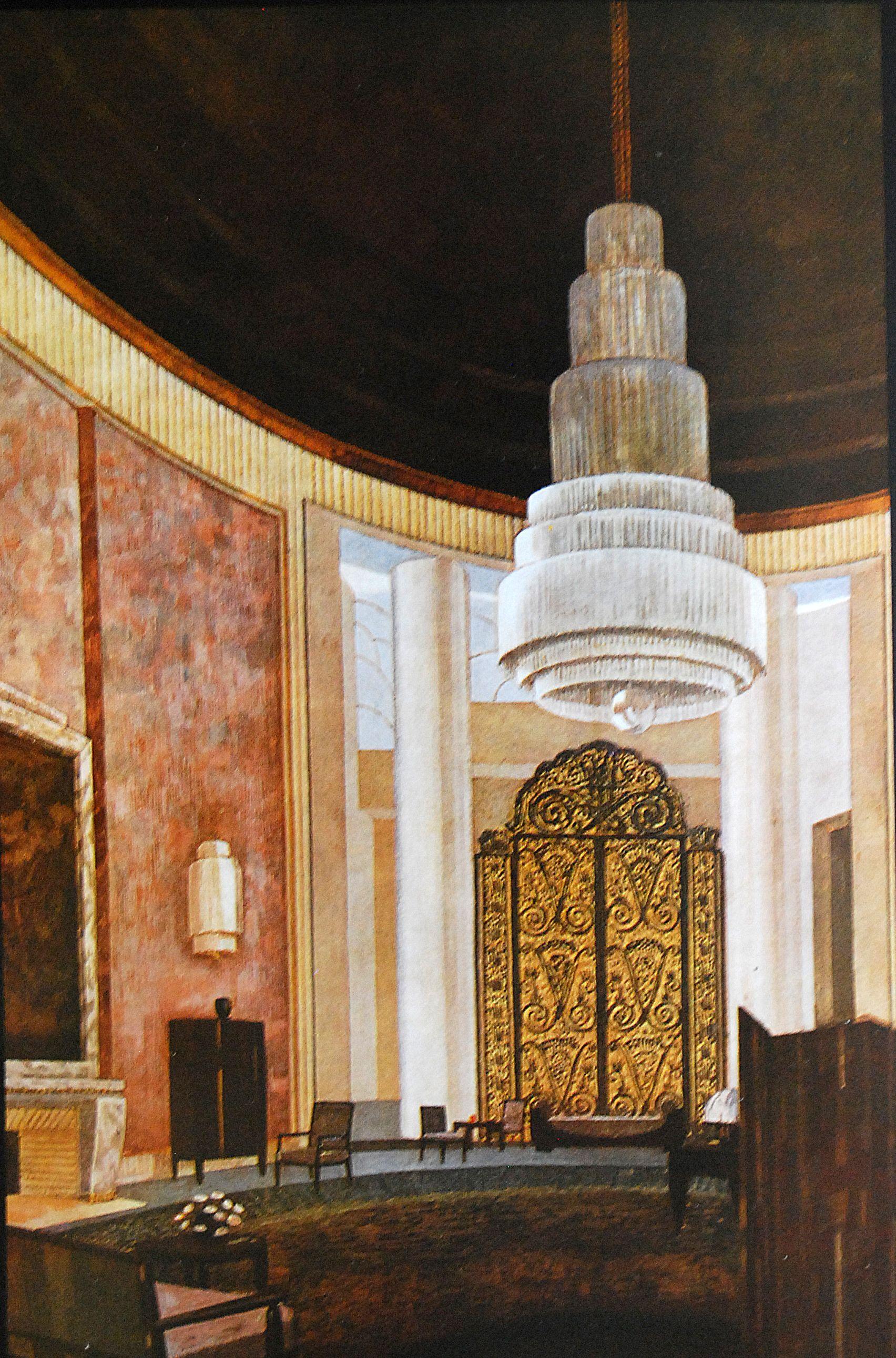 The Grand Salon of Emile-Jacques Ruhlmann\'s Hotel du ...