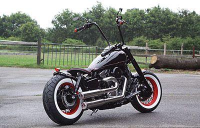 Kawasaki Vn 1500 Bobber Vn1500 Motorcycle Ideas Bobber