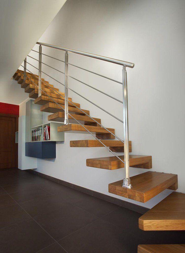Escalier en bois moderne- tous les modèles en 55 photos ...