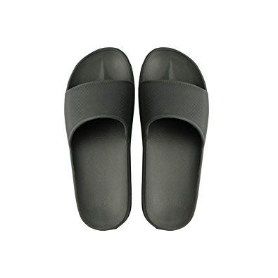 989f12e023052 Non-Branded Unisex Indoor House Slippers Couples Skid-Proof Home Anti-Slip  Indoors Shoes Bathroom Sandal Review