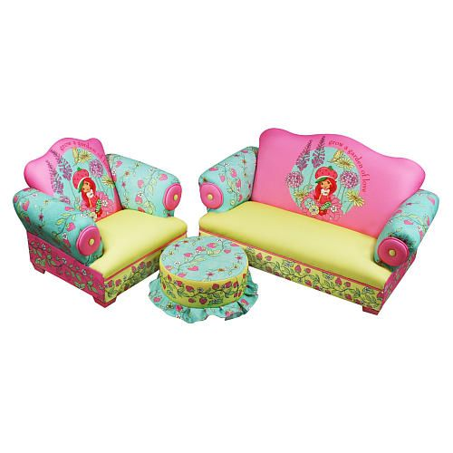 Swell Strawberry Shortcake 3 Piece Toddler Set Harmony Kids Squirreltailoven Fun Painted Chair Ideas Images Squirreltailovenorg