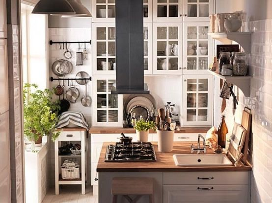 Kleine Ikea-Küche For the Home Pinterest Kitchens, Interiors - küchen ikea katalog