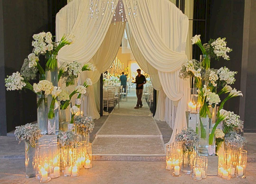 Nice 40 Creative Wedding Entrance Walkway Decor Ideas Https Oosile 13409