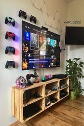 💘 73 Most Popular Video Game Room Furniture Decor-892 ,,  #Decor892 #Furniture #game #Popular #popularvideogames #room #video