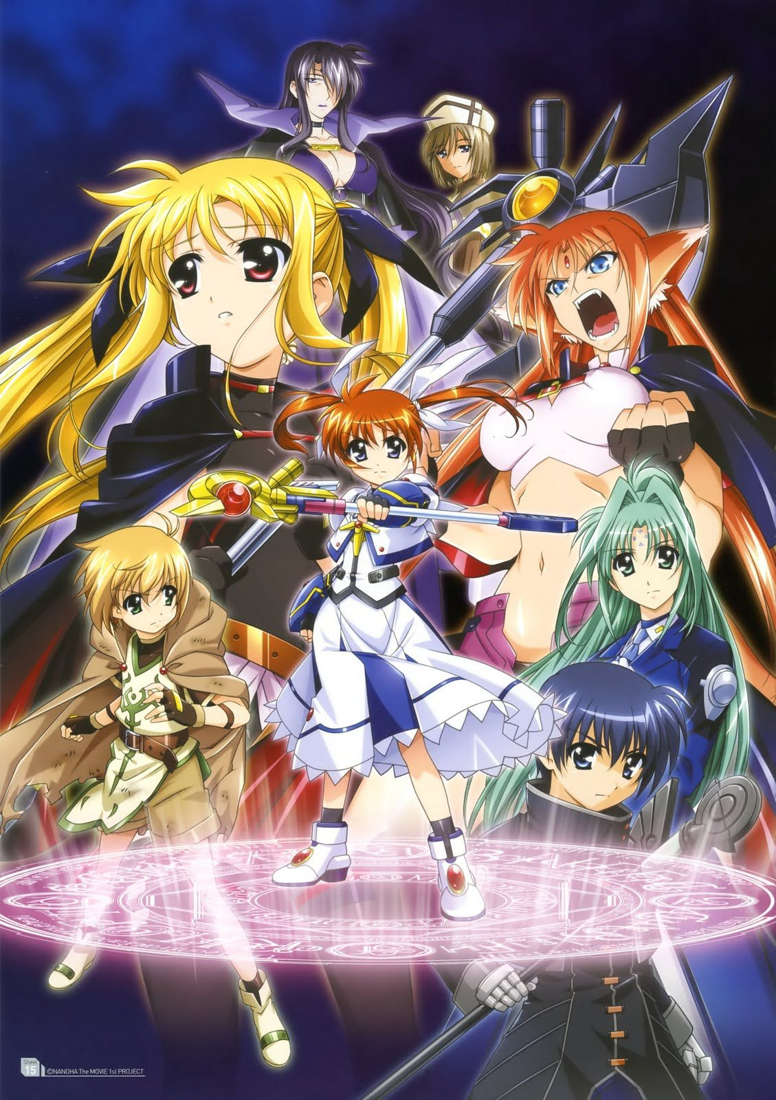 Mahou Shoujo Lyrical Nanoha The Movie 1st Genres Action