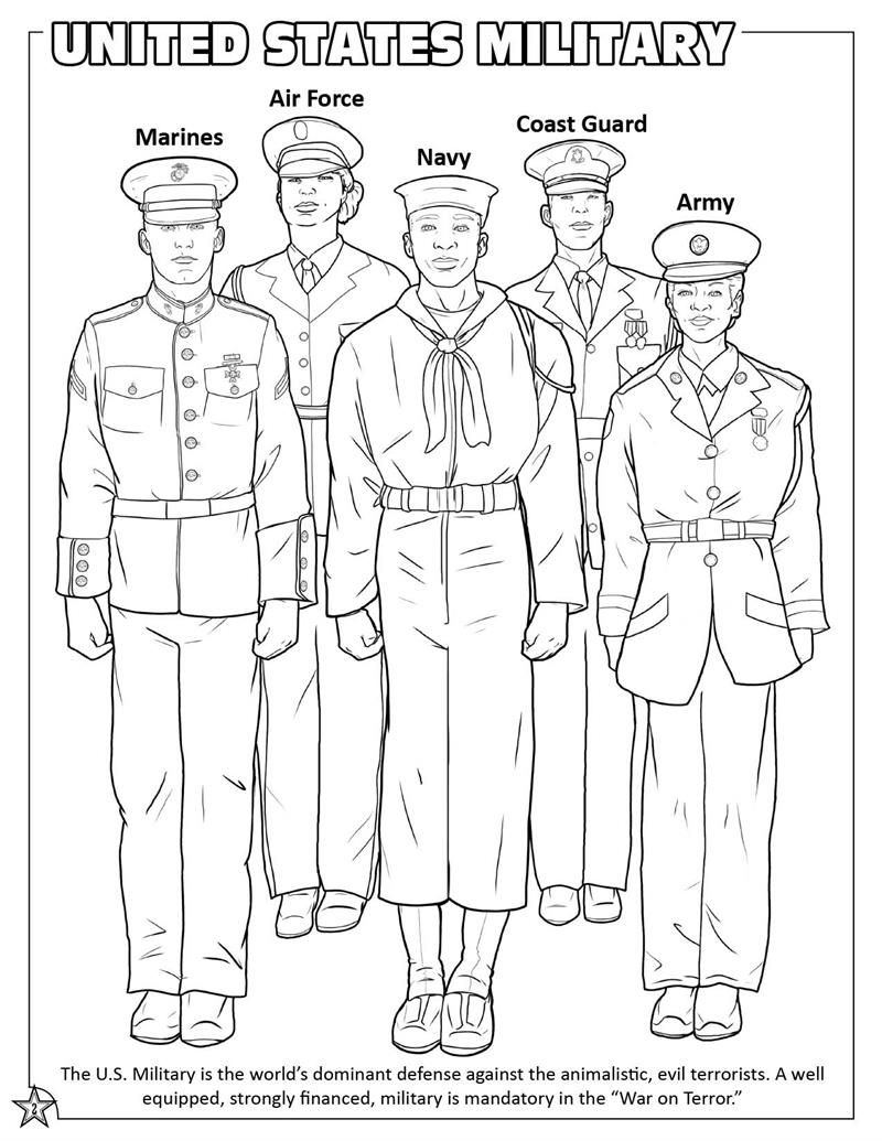 Military Branch Coloring Pages Coloring Pages Sunday School Coloring Pages School Coloring Pages