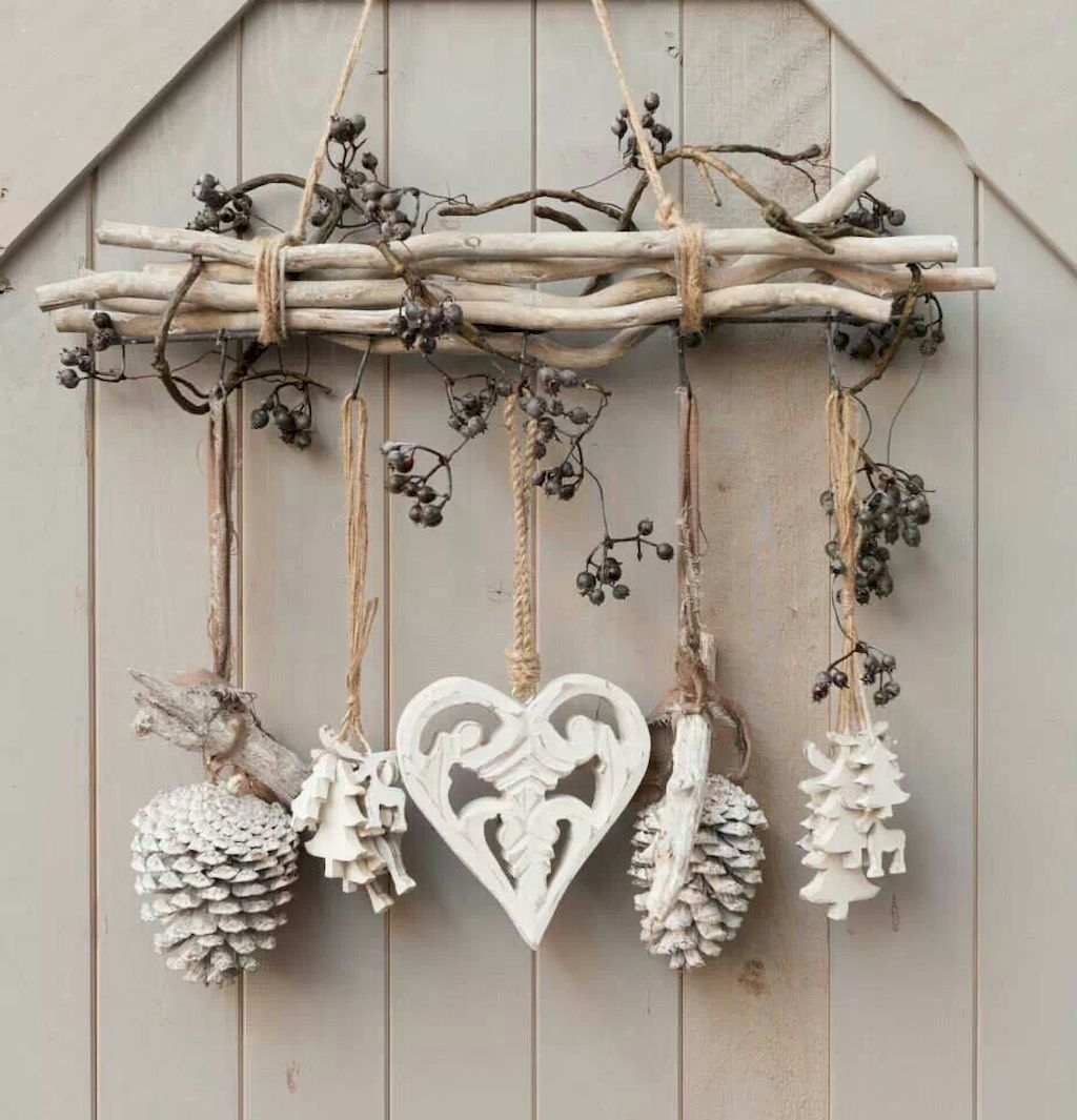 77 Rustic DIY Christmas Decorations Ideas For Home #christmasdecorations