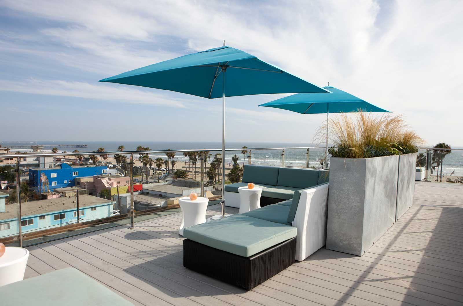 Hotel Erwin Rooftop Bar Venice Ca