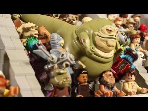 Jabba Jumps Into The Race - LEGO STAR WARS - Stop-Motion Story