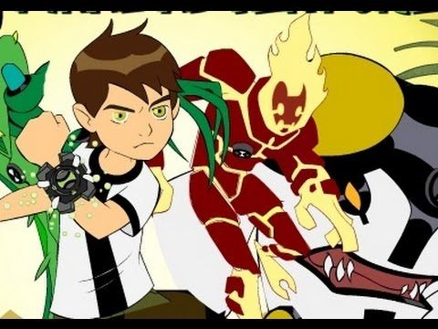 كرتون بن تن لعبة مغامرة بن 10 الاخيرة Cartoon Anime
