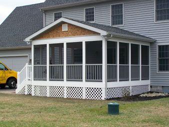 porch enclosures by eastern shore vinyl