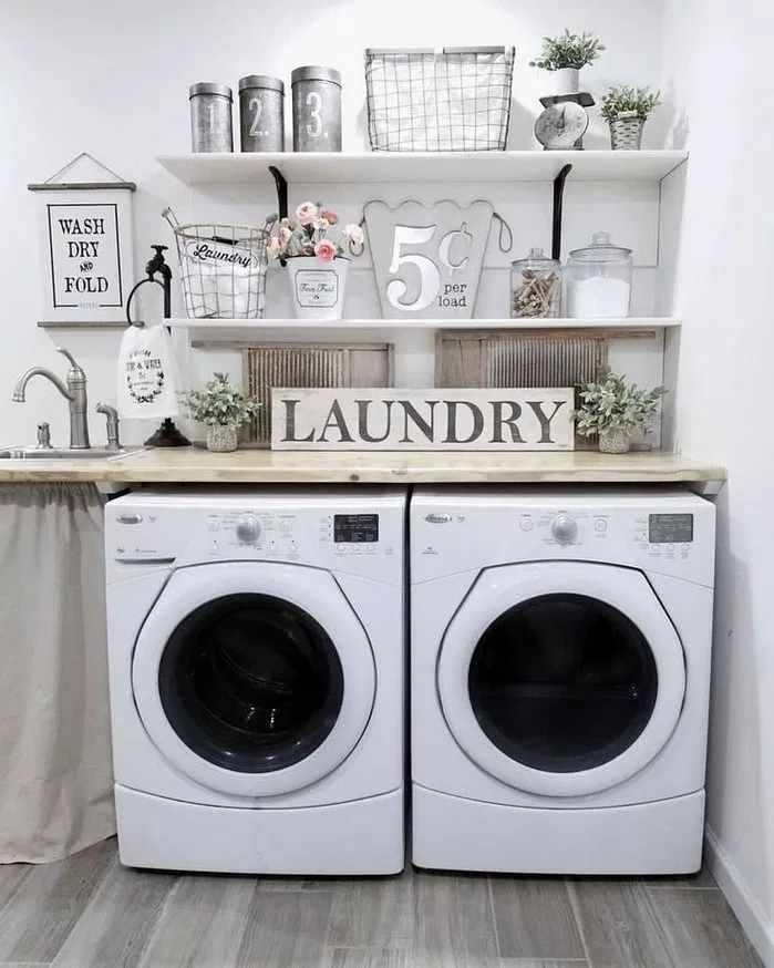 173 Gorgeous And Nice Rustic Laundry Room Home Decor Ideas 32 Laundry Room Renovation Laundry Room Design Laundry Room Makeover