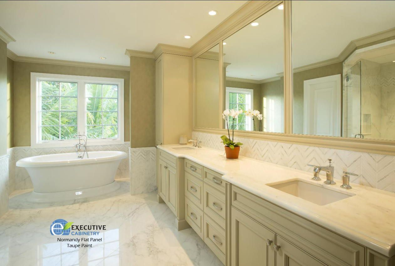 Image result for bathrooms with white cabinets   Bed & Bath ...
