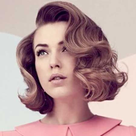 5 opciones de peinados pelo corto mujer retro \u2026 Pinteres\u2026