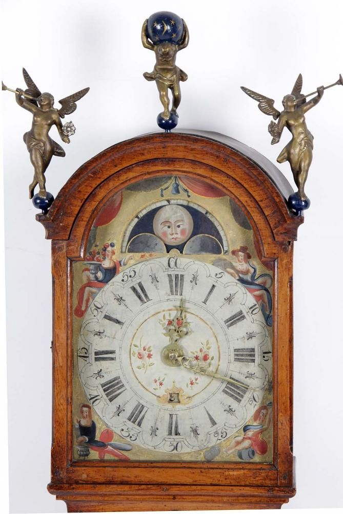 derksen veilingbedrijf, veiling | dutch frisian clocks - clock, old