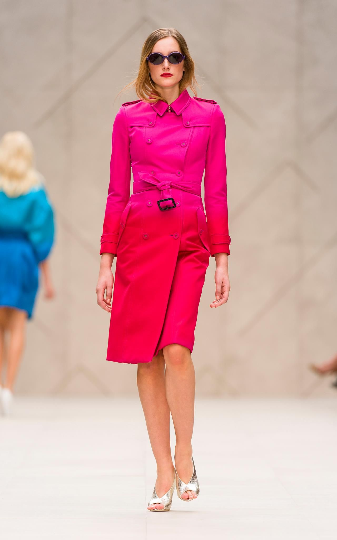The Burberry Prorsum Spring/Summer 2013 collection, shot in London on Monday 17