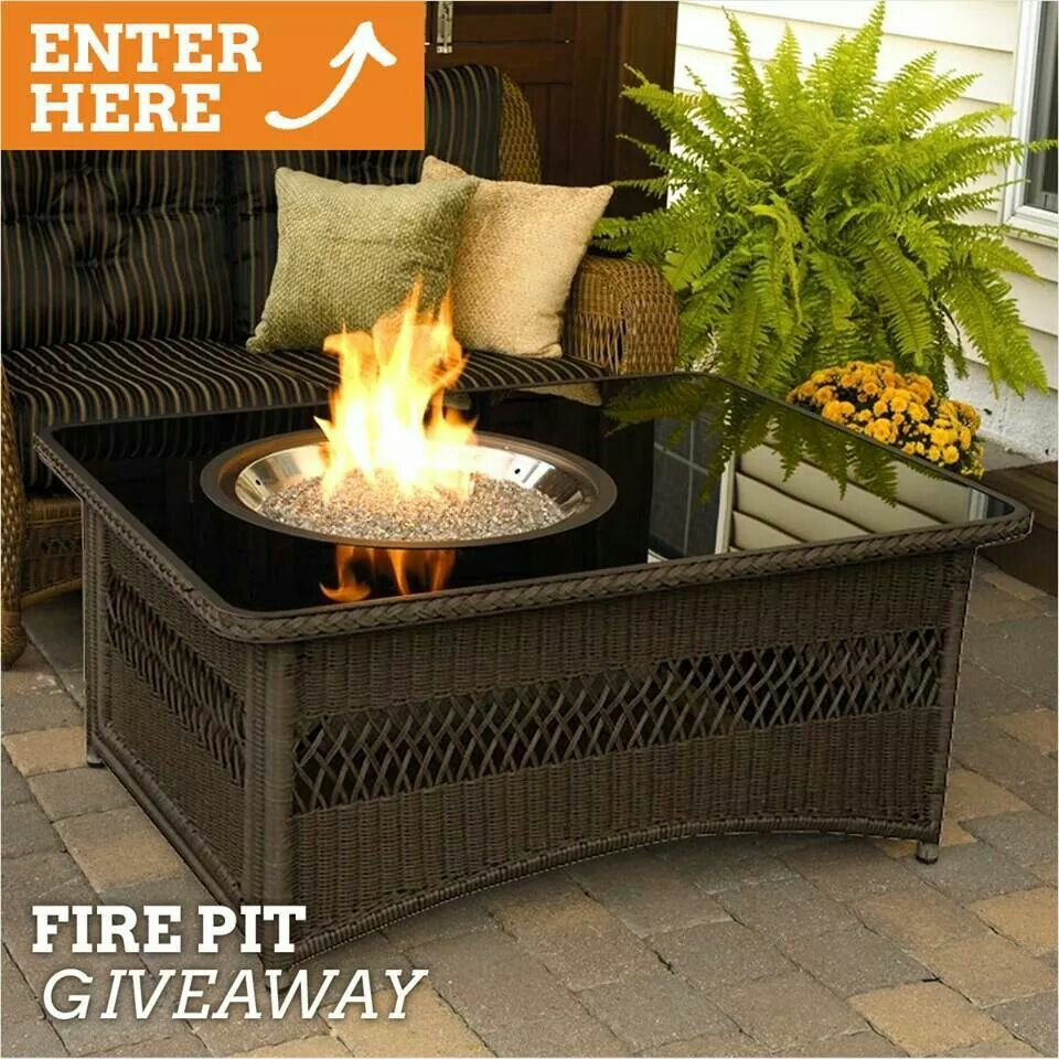 Outdoor fire source bebeu love this fire feature for a patio
