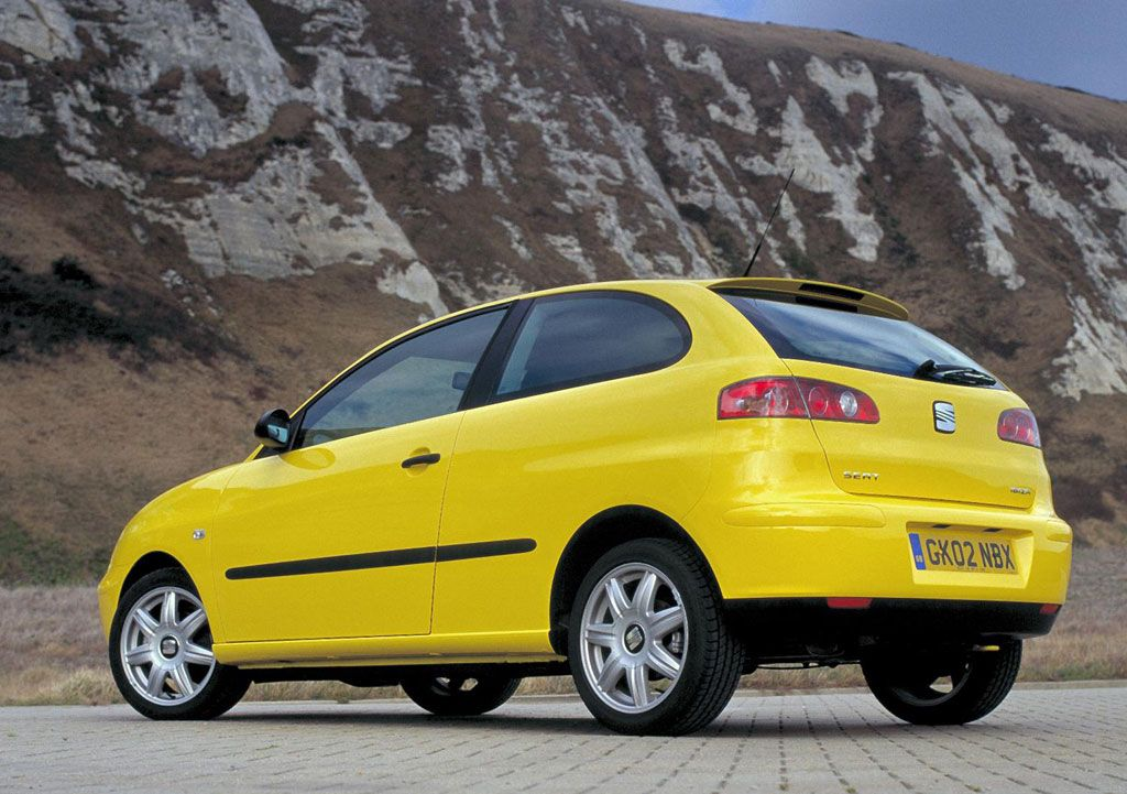 seat ibiza mkiii 2002 yellow car yellow cars pinterest. Black Bedroom Furniture Sets. Home Design Ideas