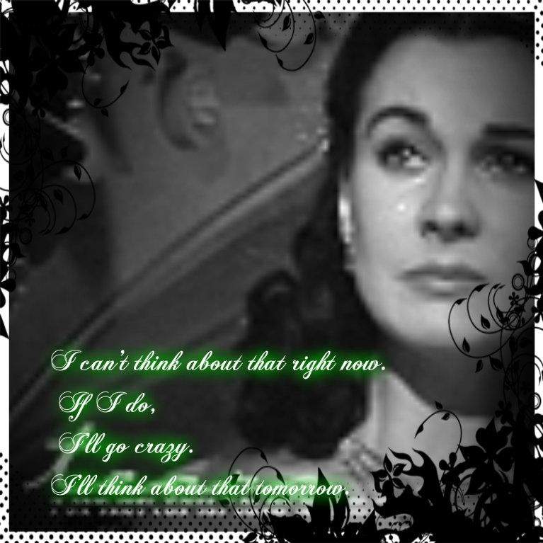 Photo Of Scarlette Wquote For Fans Of Scarlett Ohara