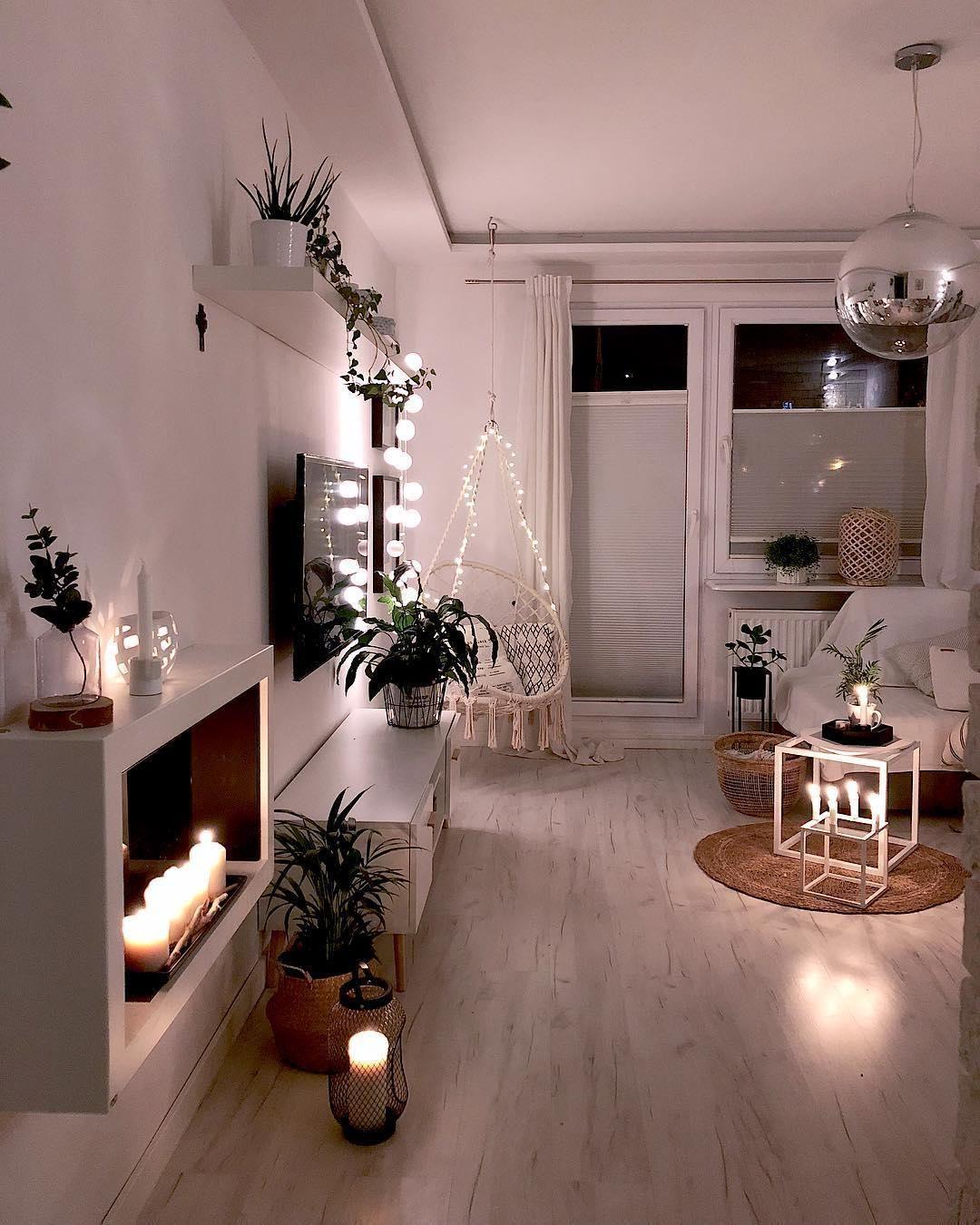 Upgrade für Dein Zuhause. Lichterketten sehen nicht nur super atmosphärisch au... - Deko Wohnung #tumblrrooms