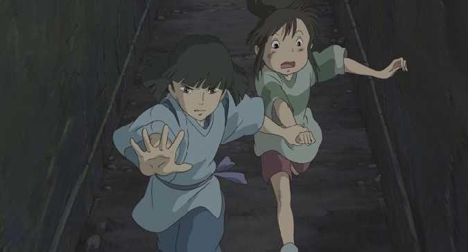 Spirited Away Haku And Chihiro Pics Images Screencaps And Scans Anime Anime Movies Spirited Away Haku