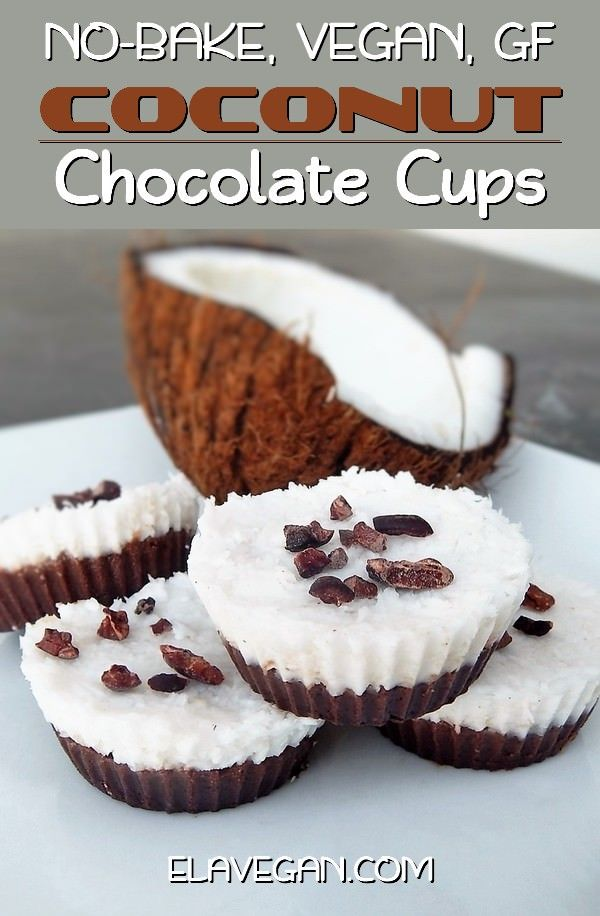 No Bake Coconut Cups With A Chocolate Layer These Cupcakes Are