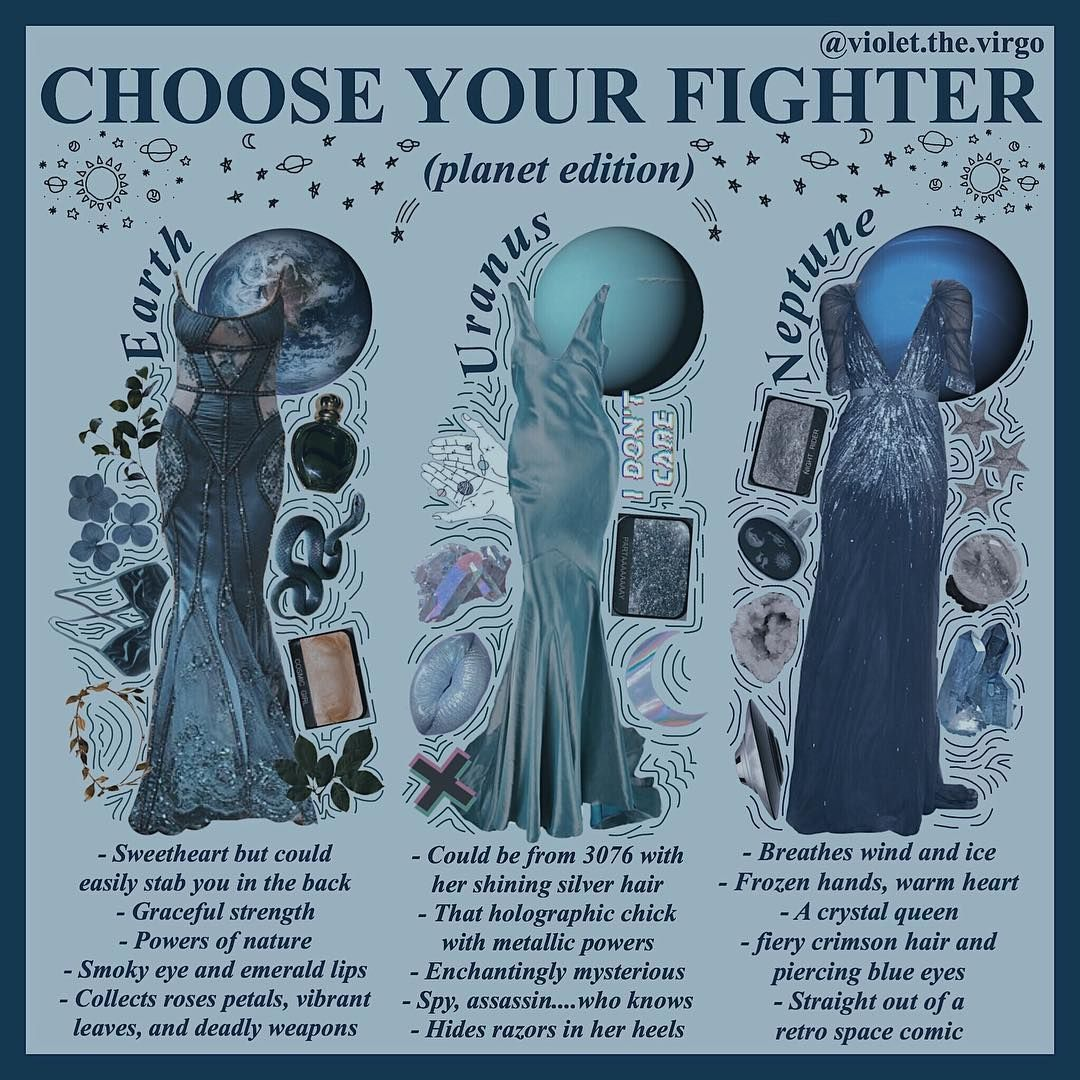 Which Blue Planet Would You Choose I M Probably Team Uranus Niche Nichepage Mood Board Fashion Aesthetic Clothes Character Outfits