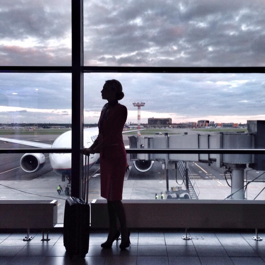 Pin by Women's Clothes on Flight Attendents in 2020 My
